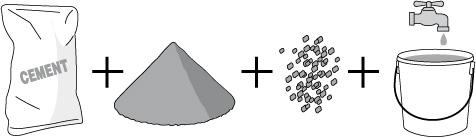 samenstelling beton