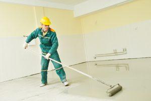 Een betonvloer schilderen