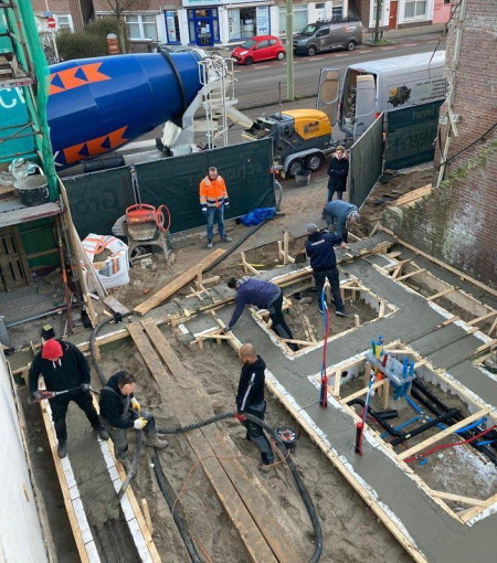 Beton Bergen op Zoom